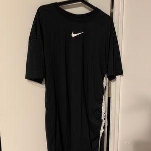 NIke women's black drawstring dress